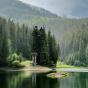 Озеро Синевир и водопад Шипот