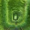Тоннель любви, Дубенский замок и Таракановский форт
